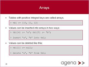 Agena 2.10.3 software screenshot
