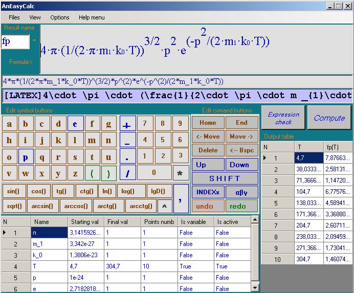 AnEasyCalc 1.1.0.3 software screenshot