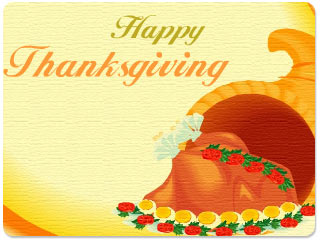 Animated Thanksgiving Wishes Wallpaper 2.0 software screenshot