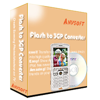 AnvSoft Flash to 3GP Converter for to mp4 5.0 software screenshot