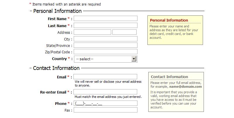 ApPHP DataForm data bound form control 3.0.9 software screenshot