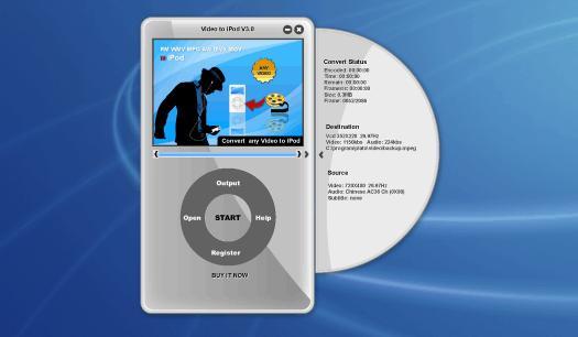 Aplus RM to iPod Converter 8.88 software screenshot