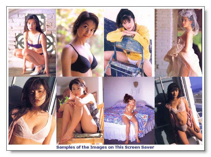 Asian Beauties 1 Screen Saver 1.3 software screenshot