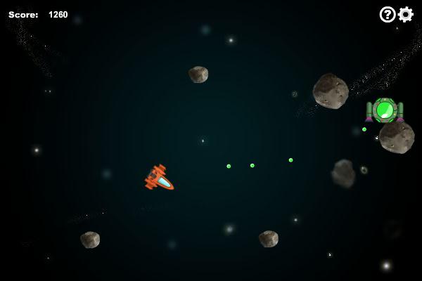 Asteroids 1.7.0 software screenshot