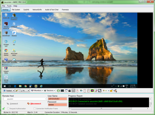 Atelier Web Remote Commander Professional 12.7.0.271 software screenshot