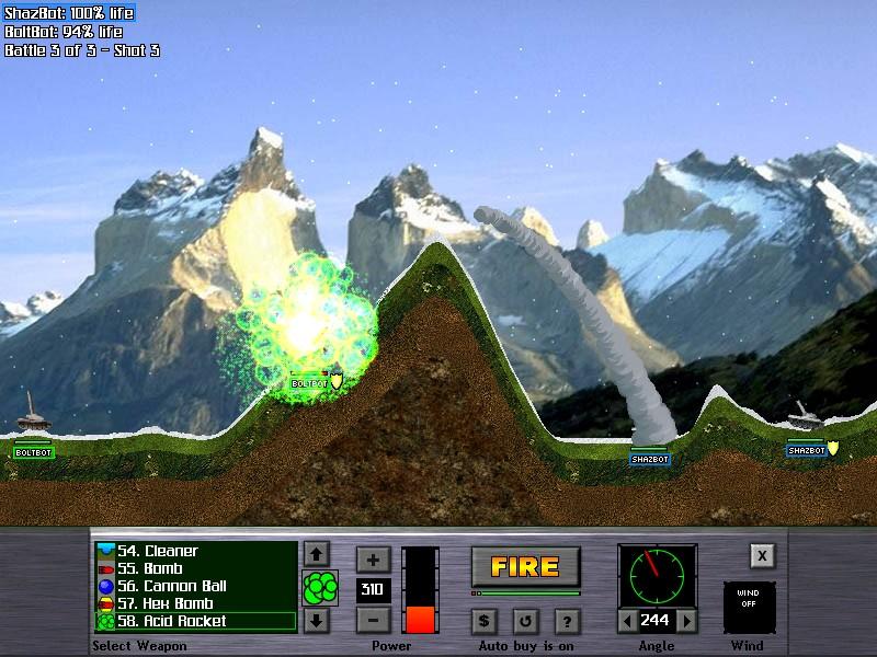 Atomic Cannon 3.0 software screenshot