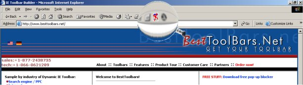 BestToolbars.net Pop Stop popup killer 2.2 software screenshot
