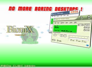 BioniX Screen Saver 1.4.3 software screenshot
