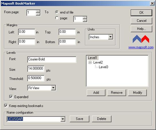 BookMarker 1.0 software screenshot