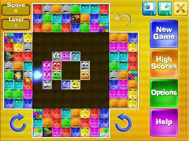BrickShooter Jr. 1.2 software screenshot