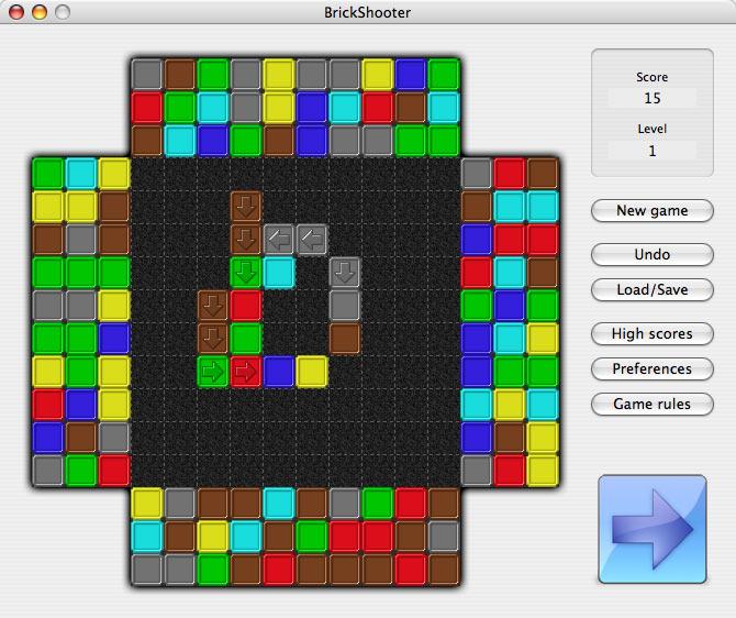 BrickShooter for Mac 1.13 software screenshot