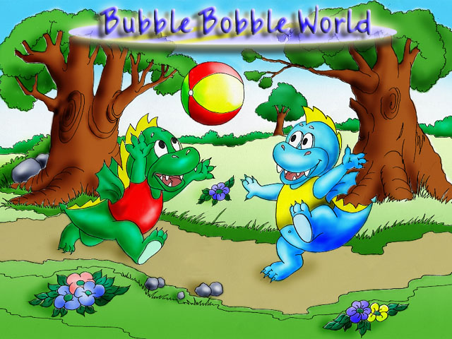Bubble Bobble Planet 1.1 software screenshot