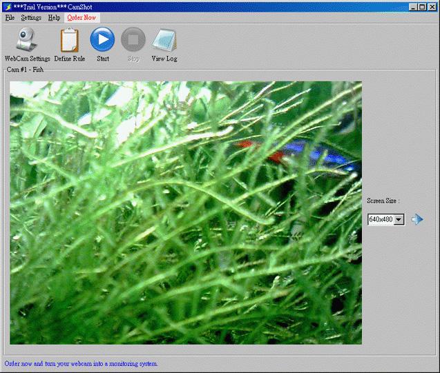 CamShot Monitoring Software 3.1.4 software screenshot