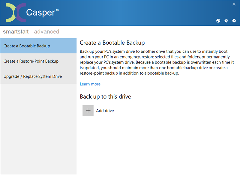 Casper 10.1.6278 software screenshot