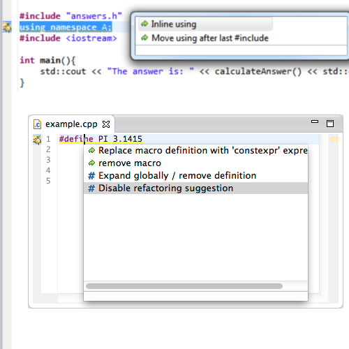 Cevelop C++ IDE 1.7.1-201704211123 software screenshot