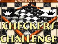 Checkers Challenge 1.0 software screenshot
