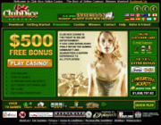 Club Dice Casino by Online Casino Extra 2.0 software screenshot