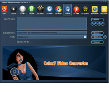 Color7 Video Converter 7.9.7.1 software screenshot
