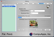 CompuApps OnBelay For MAC OS X 1.008 software screenshot