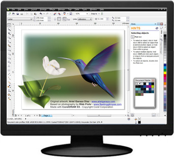 CorelDRAW Graphics Suite 2017 19.0.0.328 software screenshot
