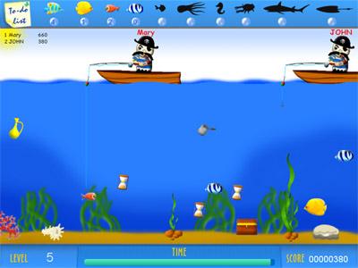 Crazy Fishing Multiplayer 3.1 software screenshot