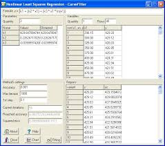 CurveFitter 4.5.22 software screenshot
