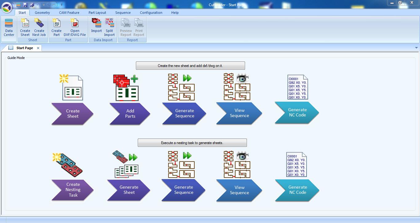 CutLeader 5.7.10 software screenshot