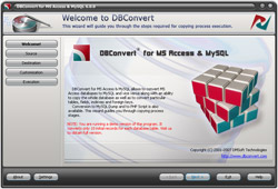 DBConvert for Access & MySQL 6.0.0 software screenshot