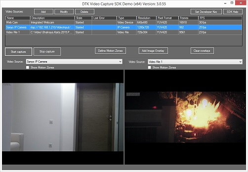 DTK Video Capture SDK 3.0.121 software screenshot