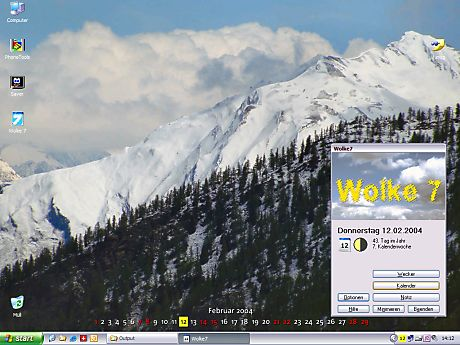 DTgrafic Wolke 7 2.6.3 software screenshot