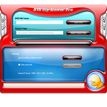 DVD Rip Master Pro 7.3.5.17 software screenshot