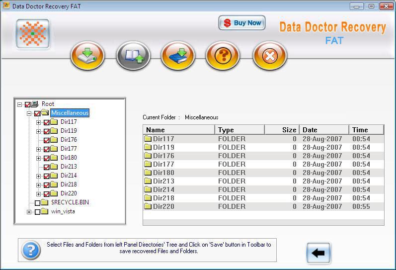 Data Recovery Laptop 3.0.1.5 software screenshot
