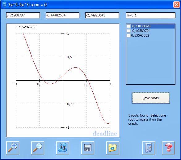 DeadLine 2.36 software screenshot