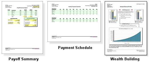 Debt Manager Professional 4.0 software screenshot