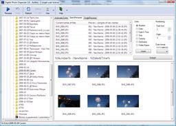 Digital Photo Organizer 1.7 software screenshot