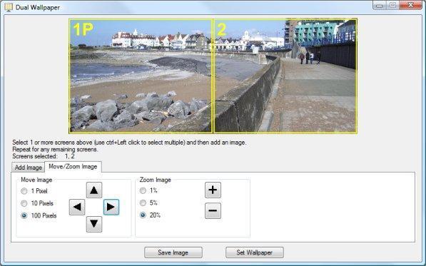Dual Monitor Tools 2.4 software screenshot