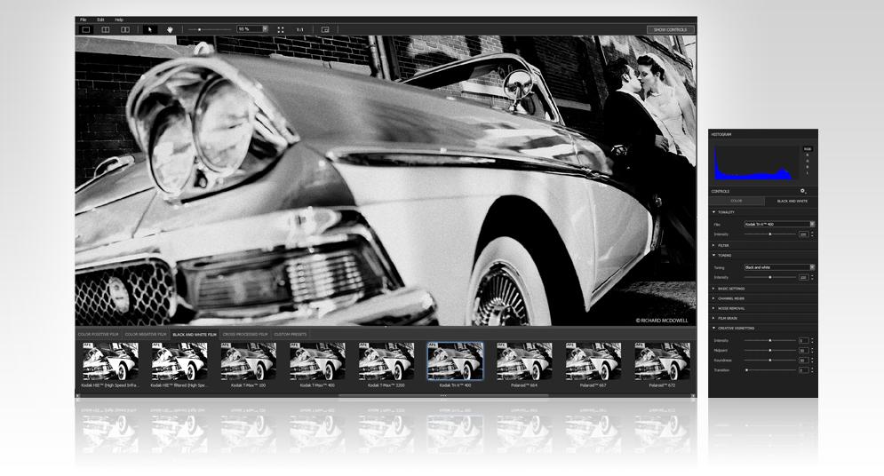 DxO FilmPack 5.5.12.554 software screenshot