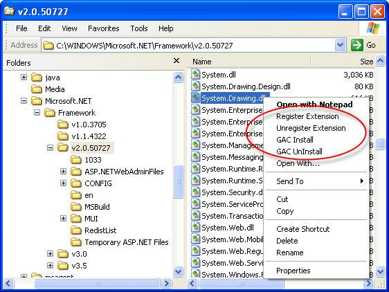 EZShellExtensions.Net 2013.631612  software screenshot