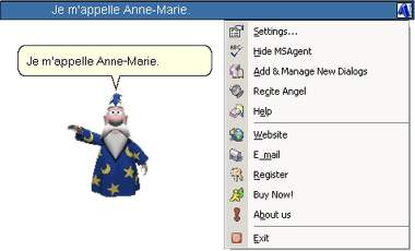 Easy French Dialogs 3.11 software screenshot