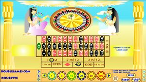 Egyptian Roulette 1.0 software screenshot