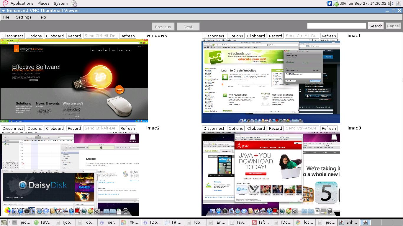 Enhanced VNC Thumbnail Viewer 1.003 software screenshot