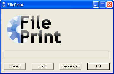 FilePrint PDF/Print Driver 1.2.5 software screenshot