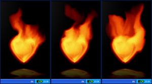Fire Heart Desktop Gadget 2.20.025 software screenshot