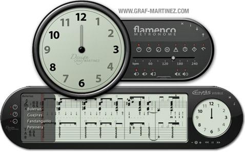 Flamenco Metronome Graf-Martinez for Win 4.01 software screenshot
