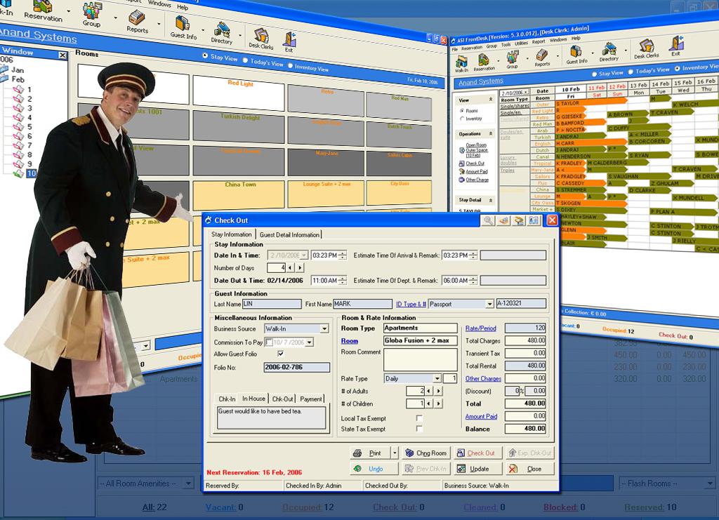 Free Hotel Software 2007 software screenshot