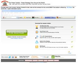 Free Poker News 1.0 software screenshot
