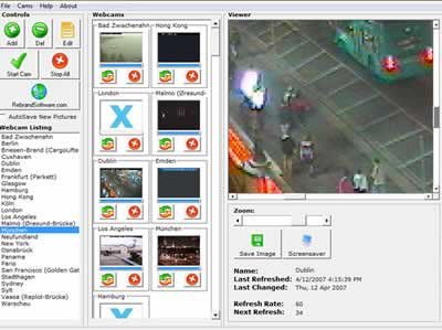Free Webcam Watcher 1 software screenshot