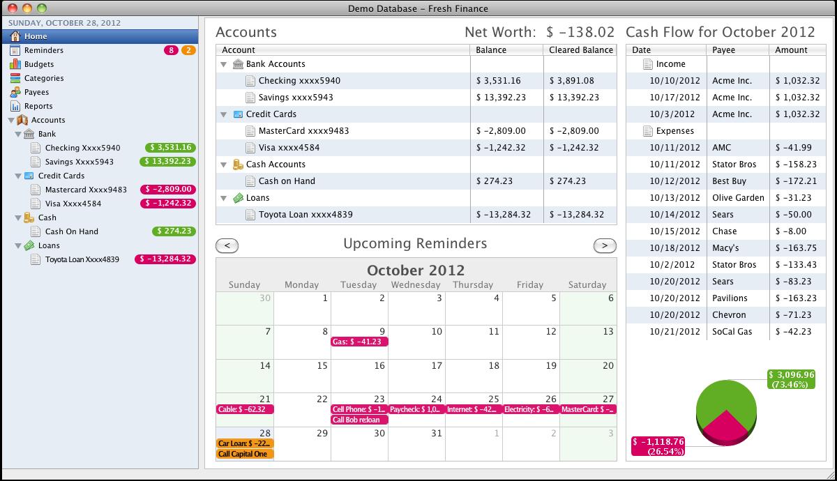 Moneyspire 2017 17.0.35 software screenshot