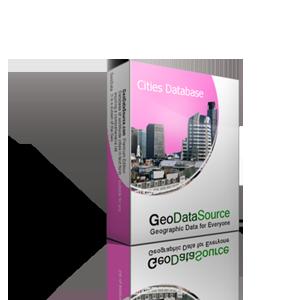 GeoDataSource World Cities Database Free Edition November 2012 software screenshot