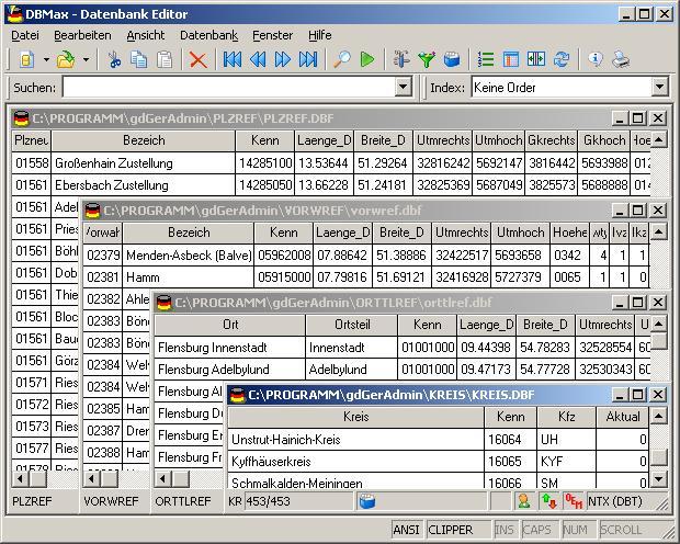 Geodaten Deutschland 15.20 software screenshot